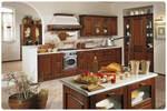 авторски дизайн ъглови кухни фурнир орех надеждни
