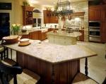 Поръчкови лукс кухненски плотове от травертин