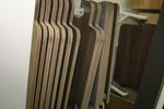 нечуплив дървен паркет с равномерна структура гладък
